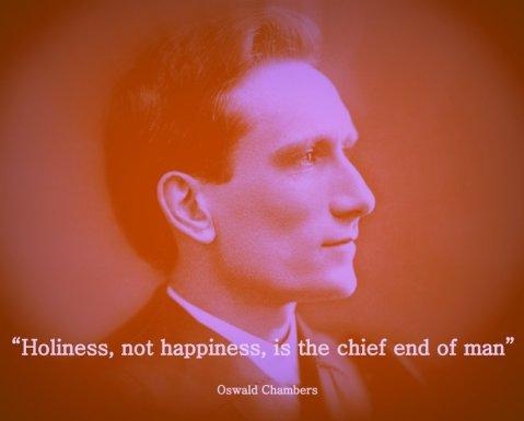 Oswald Chambers - Holiness